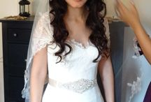 Bridal Hairstyle -All Down / Bridal Hairstyle -all down with curls or waves.