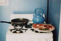 aşk mutfakta pişer
