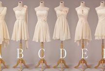 Bridesmaids / Ideas for Amy's bridesmaids