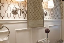 POWDER ROOM INSPIRATION / by Antique Chicago