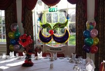Masked Ball / Balloon Decor for a Masked Ball themed events