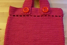 Knit or crochet ~ bags or baskets