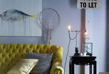 Lively Living Room Re-do / Same room, all new look / by Tara Berry
