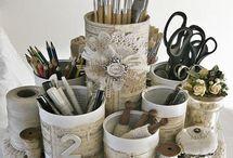 Inspiration: DIY Organizing