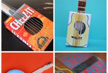 Muziekinstrumenten knutselen