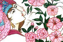 persian art work