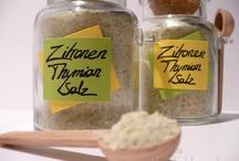 Rezepte - Salz, Öl, Essig
