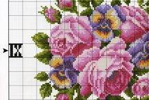 cross stitch zegary