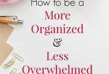 Organizing and Planning tips