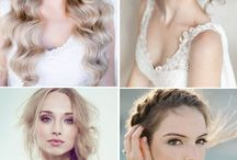 Wedding Hairstyles / Wedding day magic doesn't stop with the perfect dress and accessories, a bride and her maids are not aisle ready until they are sporting a fabulous wedding day hairstyle! Whether your hair is short and sassy or long and luxurious, there is a style to complement your look.