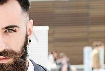 Dark Beards / Featuring the best beard styles for dark hair.