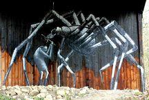 Phlegm / Images of the street art, urban art of Phlegm.