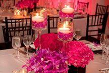 стол декор свечи