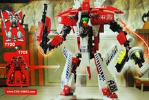 Lego exo force / Cool Lego builds from the exo force serie