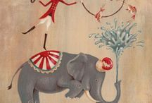Circus Illustration Vintage