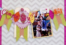 Scrappy Layouts / by Amy Rebecca