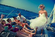 Nautical Weddings / Say I do on a Catamaran!