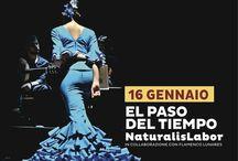 El paso del tiempo / Il nuovo spettacolo dei NaturalisLabor in collaborazione con Flamenco Lunares