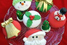 yilbasi kurabiye ve cupcakeleri