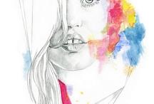 Dibujos a lápiz  / Pintar y dibujar disfrutar el arte