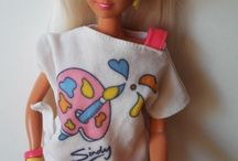 My doll collection / My new Barbie and Sindy doll collection from 1989-1992.  Thanks Ebay.   Barbie - Mermaid (1992) Barbie - Bubble Angel (1991) Sindy - Rainbow (1992) Sindy - Paint a Picure (1989)