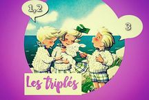 LES TRIPLES (my collection) / ©LauryRow. / https://www.facebook.com/pg/Disneycollecbell%20/photos/?tab=album&album_id=957334577681566