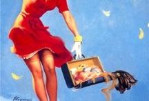 Vintage Pin Up Girls / by Nanette Spiegel
