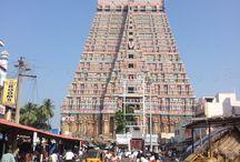 Trichy / The Sri Ranganathaswamy Temple or Thiruvarangam (Tamil Nadu  is a Hindu temple dedicated to Ranganatha, a reclining form of Hindu deity, Vishnu located in Srirangam, Tiruchirapalli, Tamil Nadu, Tallest Gopuram Of india .   Web Site : http://asiavoyagers.com