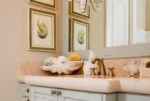 Beach themed bathroom  / by Kendra Roulet
