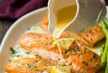 saumon sauce entrée