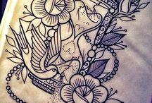 Tatueringar / Feta tatueringar.
