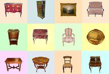 Meubes et objets d'époque restaurés / Les stagiaires au sein de notre centre de formation ont pour mission la restauration de meubles et objets d'art anciens.   Une fois restaurés, les différents meubles et objets sont alors exposés / vendus 2 fois par ans lors d'événements au sein de notre centre à Boissy l'Aillerie (Val d'Oise).  Ces ventes représentent 50% des revenus de notre association, c'est pourquoi nous comptons sur vous. (Prochaine expo-vente les 25 et 26 mars)