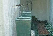 Zahradní nádoby na vodu - garden water container