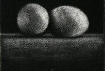 monoprints/monotypes, collagraphs, gelatin prints