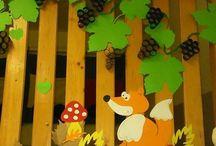rókás őszi kép