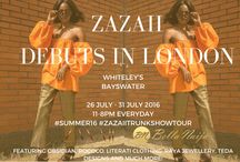 ZAZAII TRUNKSHOW TOUR