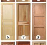 Interior doors / Doors for the upstairs