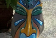 Palm Fronds Painted