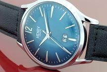 Zeitmode / Modische Uhren von Daniel Wellington, Henry London und ICE Watch