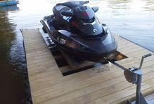 jet ski dock diy