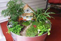 fairy house/ garden decor