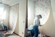Como aplicar tecido na parede