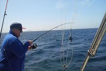 Fishing with our guest / Scott fishing Playa Blanca