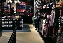London showroom's / Different men's showroom's in London