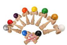 Wooden Kendama Ball Ahşap Denge Oyunu yeni