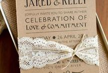elegant, rustic weddinginvitations