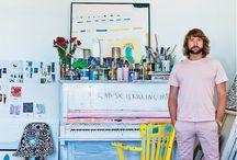 Studio Ideas / by Jessie Breakwell Gallery
