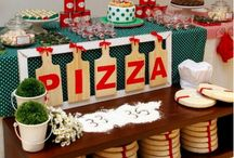 Party ideas: pizza party