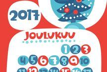Seinäkalenteri 2017 / Pikku Kakkosen tulostettava seinäkalenteri 2017 | askartelu | käsityöt | kädentaidot | koti | sisustaminen | yhdessä tekeminen | yhdessäolo | perhe | paperi | lasten | lapset | kalenteri | vuosikalenteri | tv-ohjelma | kid crafts | home | tv show | free | printable | calendar | paper | craft | children | kids | Pikku Kakkonen | yle.fi/lapset
