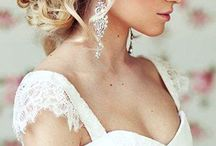 My wedding hairstyles